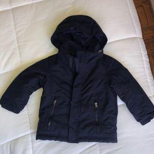 Navy blue L.L. Bean winter jacket